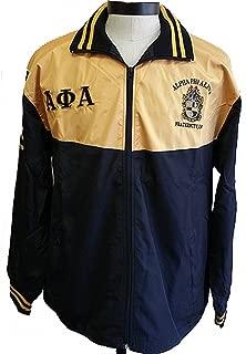 Buffalo Dallas Alpha Phi Alpha Shield Embroidered Mens Track Jacket