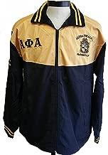Cultural Exchange Buffalo Dallas Alpha Phi Alpha Shield Embroidered Mens Track Jacket