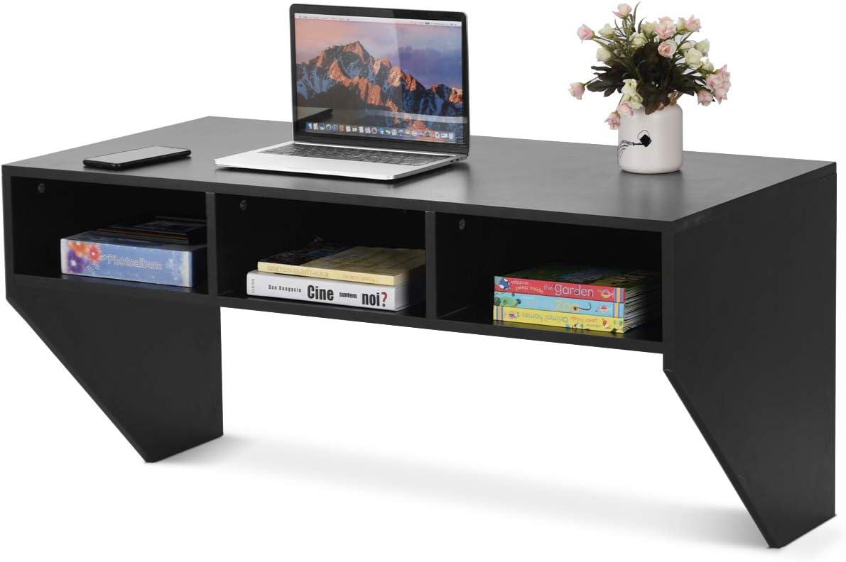 BestComfort Wall Mounted 35% OFF Desk Hutch Floating 42.5inch Laptop Ta Nashville-Davidson Mall