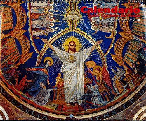 Calendario Faldillas 2020 Corazon De Jesús