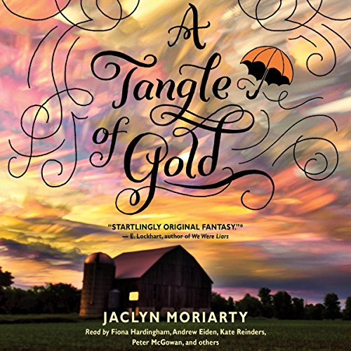 A Tangle of Gold audiobook cover art