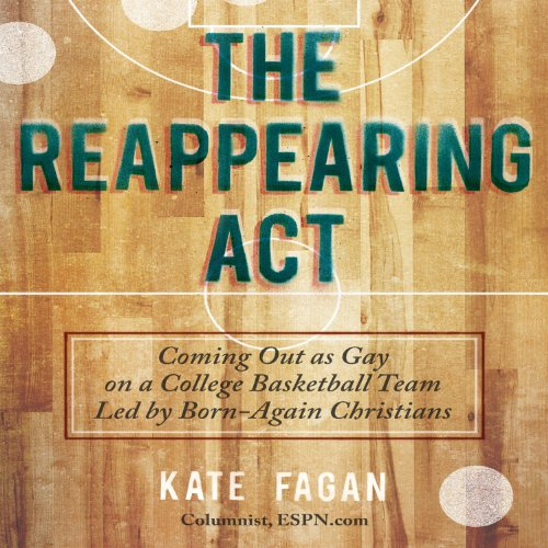 The Reappearing Act audiobook cover art