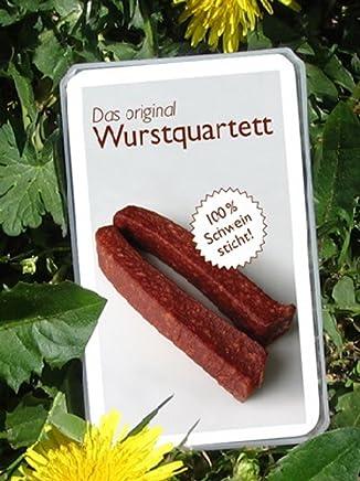 Wurst Quartett Kartenspiel
