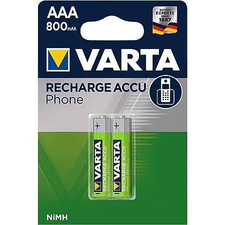 Varta Micro Aaa Akku Für Dect Telefone 800mah 2er Elektronik