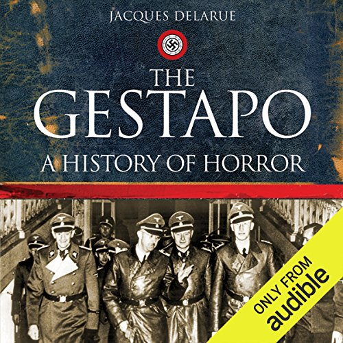The Gestapo audiobook cover art