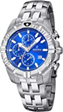 Festina Unisex Adult Chronograph Quartz Watch with Stainless Steel Strap F20355/1