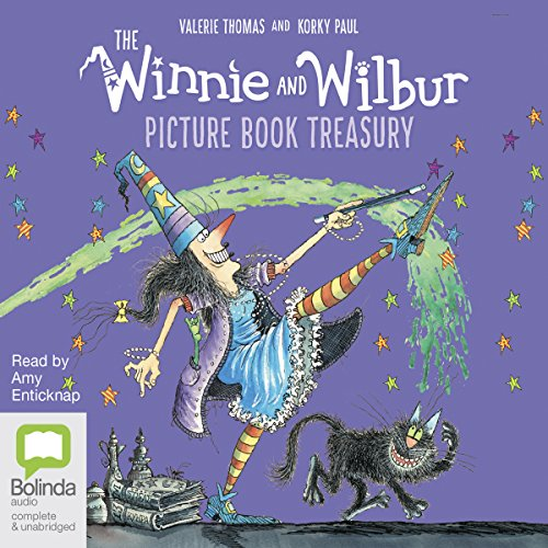The Winnie and Wilbur Picture Book Treasury audiobook cover art