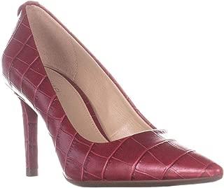 Michael Michael Kors Womens Dorothy Leather Pumps Dress Heels