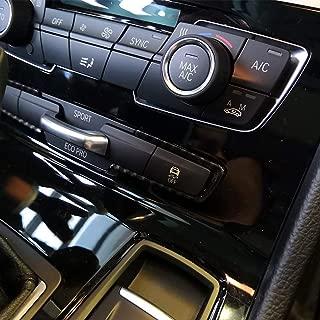 AUTO pro for BMW 2 Series F45 F46 218i 2015-2018 Carbon Fiber Style Car Accessories Mode Button Frame Cover Trim 2pcs