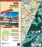 Stuttgart: Umgebungskarte mit Satellitenbild 1:250.000 (TK250 / Topographische und Satellitenbildkarte) - BKG - Bundesamt für Kartographie und Geodäsie