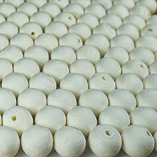Wattekugel A0010202 - Bolas de algodón (100 unidades, celulosa, 2 cm), color blanco