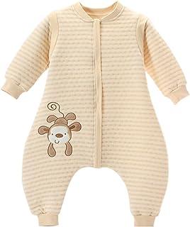 0870e97248e52 LifeWheel Surpyjama en coton bio coloré avec manches et ouvertures aux  pieds pour enfant de 6