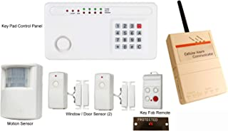 Skippers Wireless Boat Alarm for Security with Cell Phone and Email Alerts, 12v