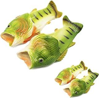 SEVENHOPE Fish Flip Flops Sandales de Plages, Claquettes, Chaussures Décontractées, Chassons, Chaussures de Bain et Sandal...