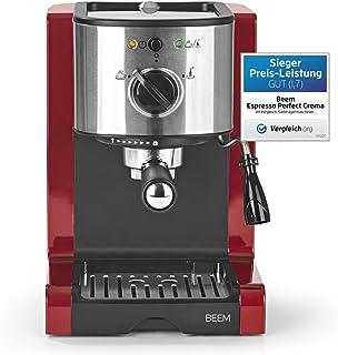 Cafetera Beem 02051Espresso Perfect | Cafetera expreso para café molido (1350W, 15bares) | Expreso, capuchino, Latte Ma...