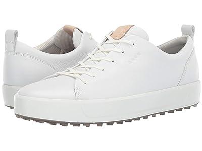 ECCO Golf Soft Low Hydromax(r) (Bright White) Men