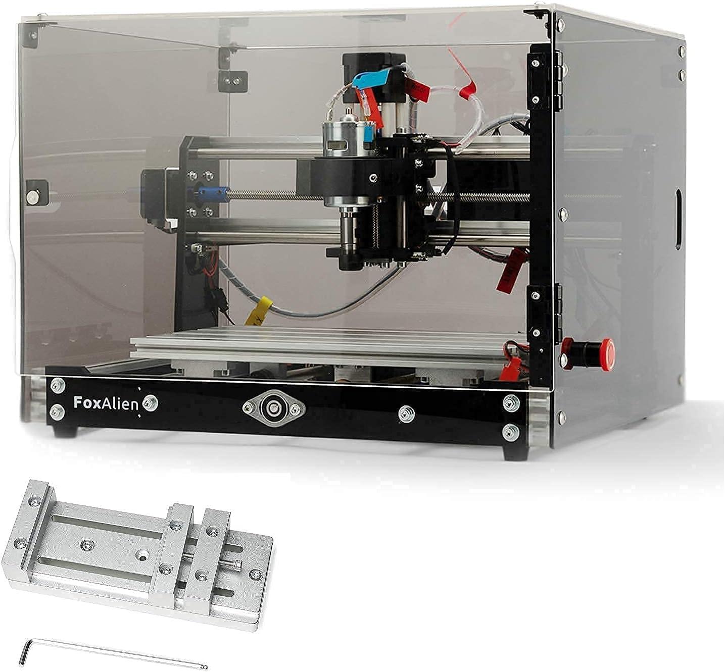 3018-SE V2 San Antonio Mall CNC Router Machine Limited time cheap sale + with Transparent Enclosure Black