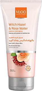 VLCC Witch Hazel & Rose Water Gentle Face Wash 150 ml, Pack of 1