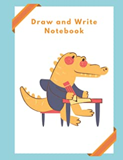 Draw and Write Primary Story Journal, Composition Notebook,: For Kindergarden and Pre-K Students