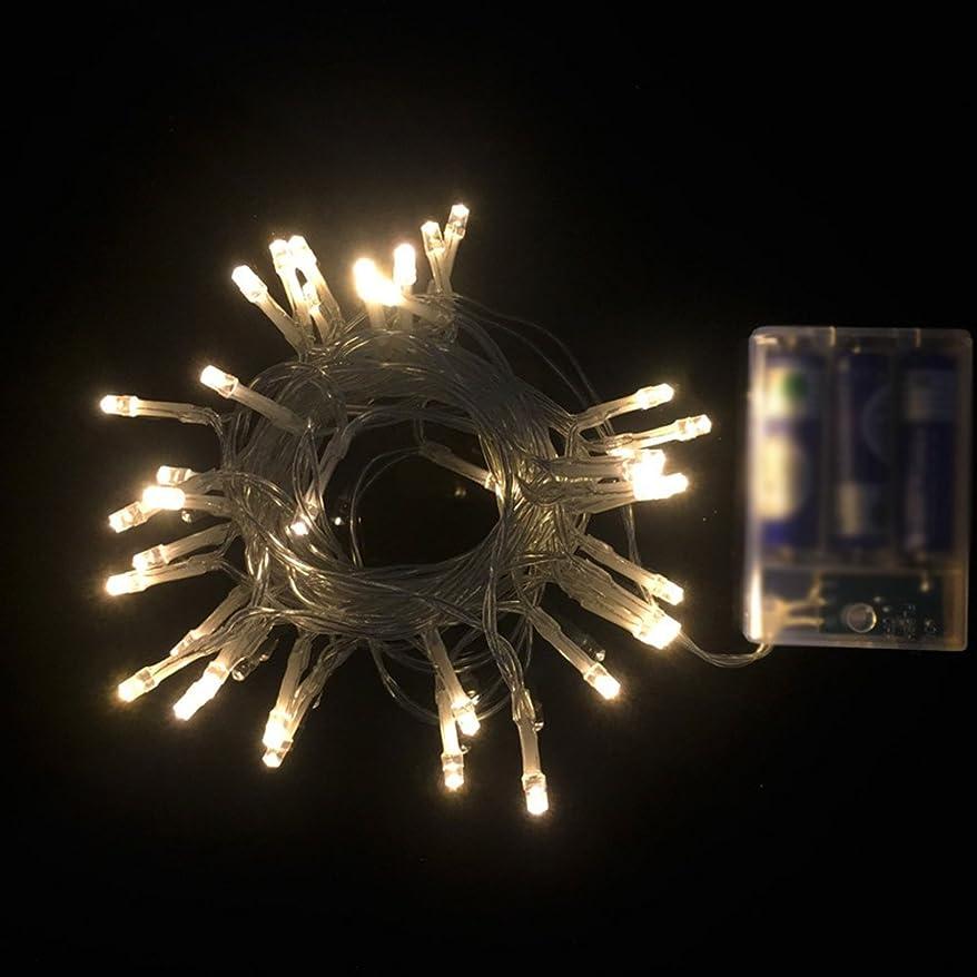 繊細水星民族主義Ecloud Shop 3m 30 LED装飾ライトランプストリングバッテリーボックスランタンライトクリスマスハロウィン結婚式パーティガーデンモールホームデコレーション(暖かい白)