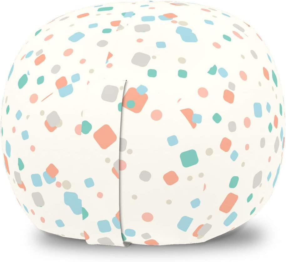 Ambesonne Abstract Max All items free shipping 68% OFF Storage Toy Bag Chair G of Scattered Pattern