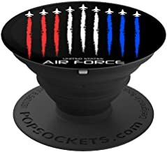 Air Force US Veterans 4th of July T shirt - American Flag PopSockets Grip and Stand for Phones and Tablets