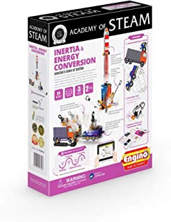 Engino - Academy of STEAM Toys | Inertia & Energy Conversion: Newton's Law of Motion - Building Toys and Learning Activities (2 Models)