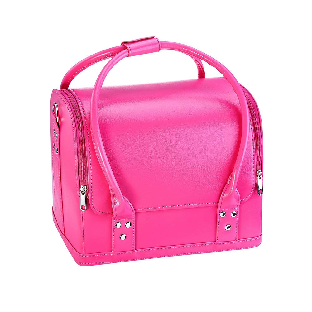 Limited Special Price Makeup Train Case 3 Layer with Shoulder Max 80% OFF Bag Str Organizer