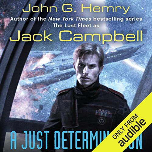 A Just Determination  audiobook cover art
