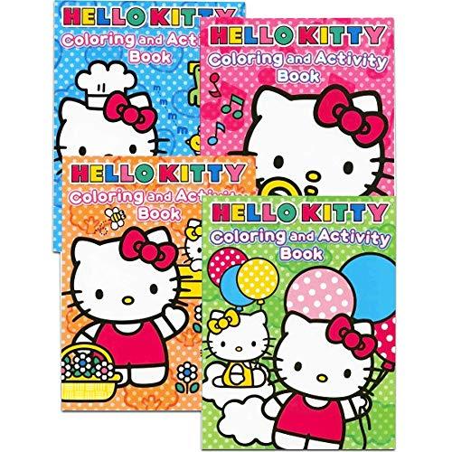 Hello Kitty Coloring Books Bundle (Set of 4)