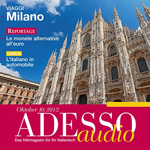 ADESSO Audio - L'italiano in automobile. 10/12 cover art