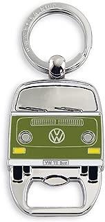 BRISA VW Collection VW T2 Bus Key Ring/Bottle Opener - Green