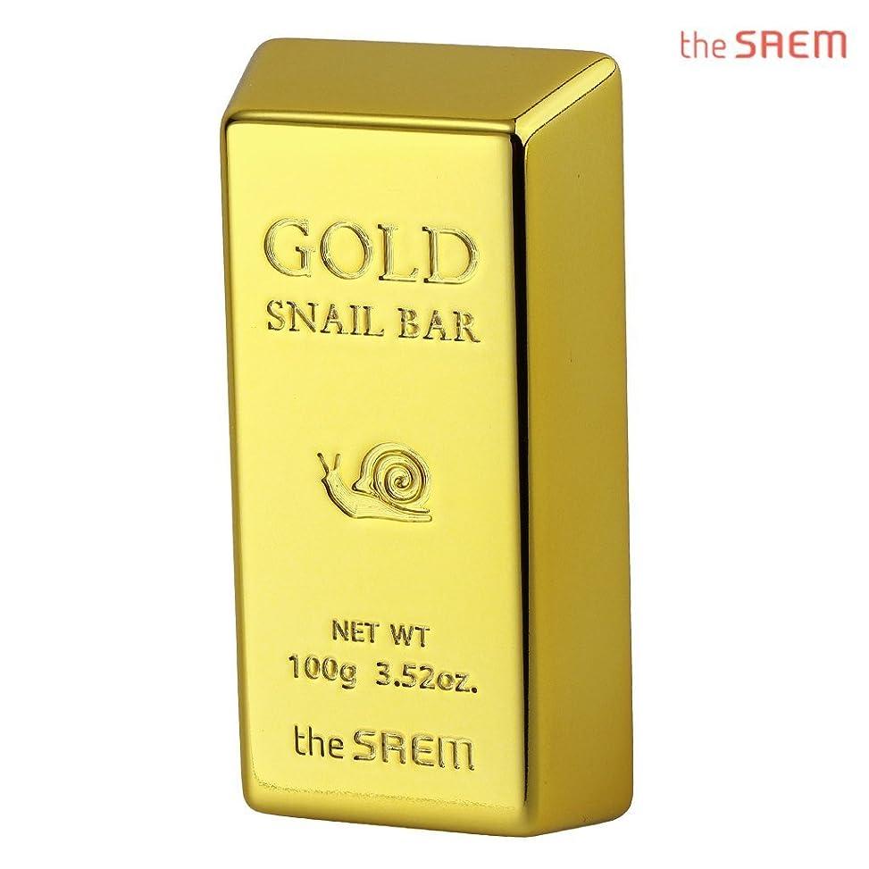 みなさん達成なしでThe Saem 24K gold snail premium facial soap セーム24Kゴールドカタツムリプレミアムフェイシャルソープ 石鹸 (100g) [海外直送品]