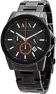 Armani Exchange Men's Chronograph Gunmetal-Tone Stainless Steel Watch AX2514