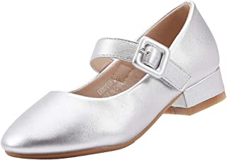 Girls' Mary Jane Low Heel Party Shoes