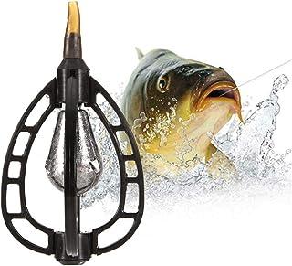"""15/g 20/g Sams Fishing Feeder /4/Feeder f/ür die /""""Inline Flat/""""-Methode 35/g /& 1 Form 25/g mit 1/Schnelll/öse-Form Feeder-Set/"""