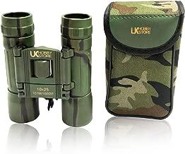 UKHobbyStore - Prismáticos (10 x 25, con lentes con