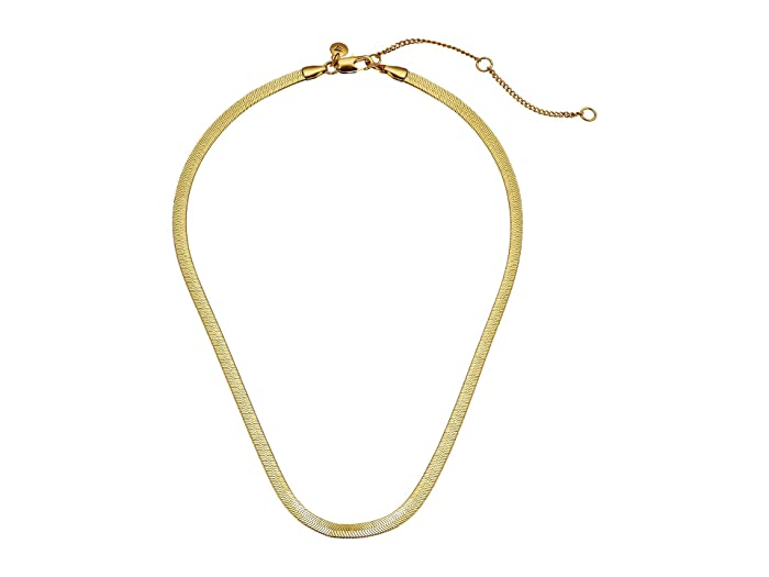 Madewell  Herringbone Necklace (Vintage Gold) Necklace
