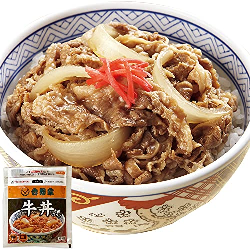 吉野家 牛丼の具 冷凍 120g×60袋セット(レンジ・湯せん調理OK) 冷凍食品
