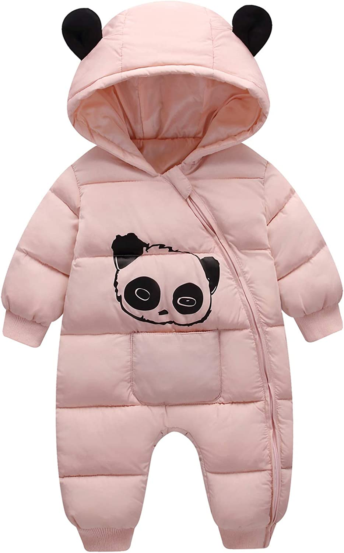 Happy Cherry Baby Adorable Hoodie Snow Zip Winter Suit Fashion Jumpsuit Nashville-Davidson Mall