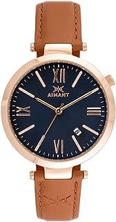 Bora Watches | 39 MM Women's Analog Minimalist Watch | Leather Band