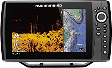 Humminbird Helix 9 G3N CHO Fish Finder with Chirp, MEGA DI+, GPS, and 9-Inch-Display