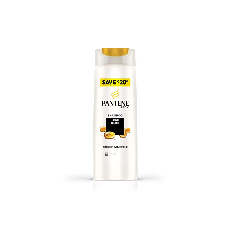 息子乱す遅いPANTENE LONG BLACK SHAMPOO 180 ml (パンテーンロングブラックシャンプー180 ml)