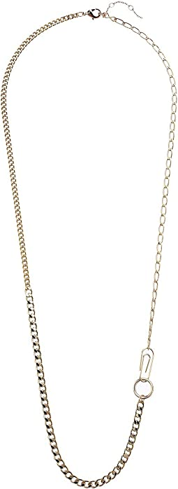 Mix Chain Long Neckalce 30""