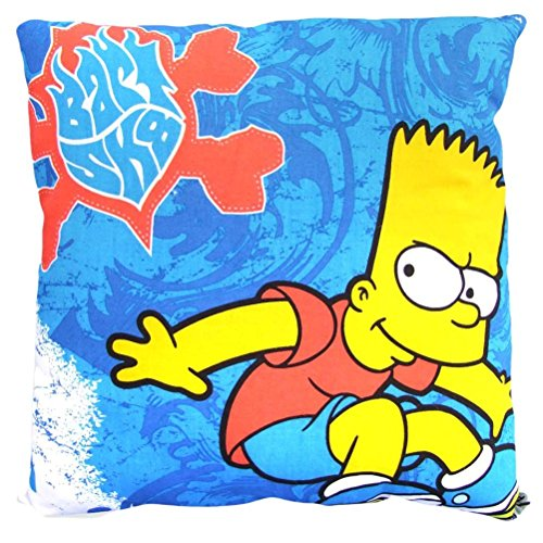 Simpsons Kissen Bart Simpson Skateboard