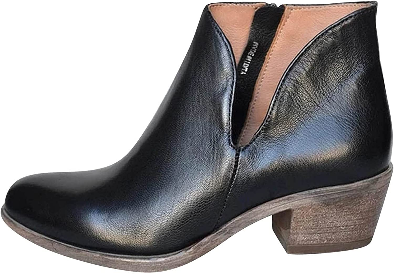 Boots For Women Max 44% OFF Cowgirl Fashion High Shoes Hee Breathable Special price for a limited time Chunky