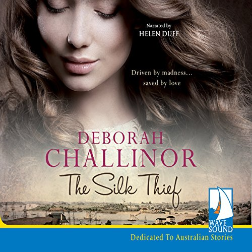 The Silk Thief audiobook cover art