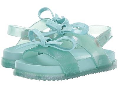 Mini Melissa Mini Cosmic Sandal + (Toddler/Little Kid) (Green) Girls Shoes