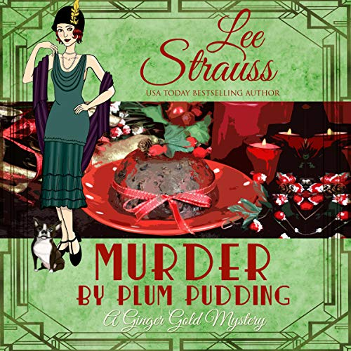 Murder by Plum Pudding Audiobook By Lee Strauss cover art