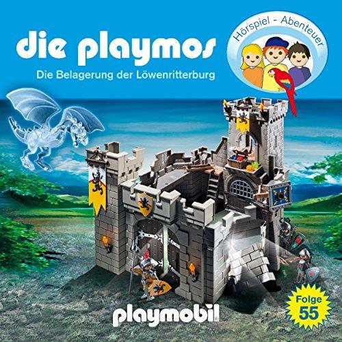 Die Playmos - Folge 55: Die Belagerung der Löwenritterburg (Das Original Playmobil Hörspiel)
